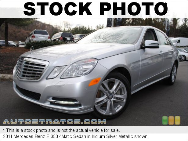 Stock photo for this 2011 Mercedes-Benz E 350 4Matic Sedan 3.5 Liter DOHC 24-Valve VVT V6 7 Speed Automatic