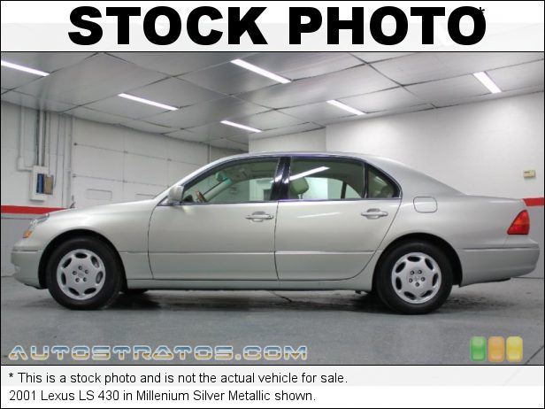 Stock photo for this 2003 Lexus LS 430 Sedan 4.3L DOHC 32V VVT-i V8 5 Speed Automatic