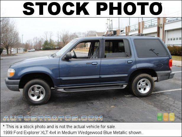 Stock photo for this 1999 Ford Explorer 4x4 4.0 Liter SOHC 12-Valve V6 5 Speed Automatic