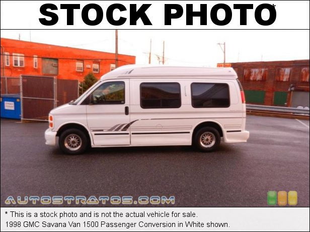 Stock photo for this 1998 GMC Savana Van 1500 Conversion 5.7 Liter OHV 16-Valve V8 4 Speed Automatic