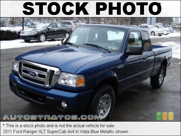 Stock photo for this 2011 Ford Ranger SuperCab 4x4 4.0 Liter OHV 12-Valve V6 5 Speed Manual