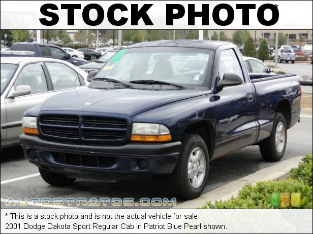 Stock photo for this 1997 Dodge Dakota Sport Regular Cab 2.5 Liter OHV 8-Valve 4 Cylinder 5 Speed Manual
