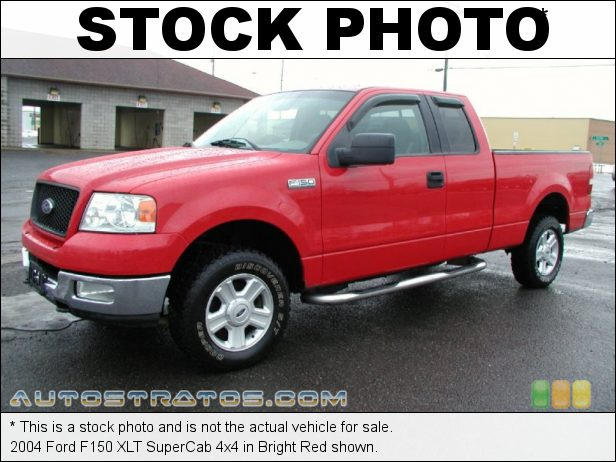 Stock photo for this 2004 Ford F150 XLT SuperCab 4x4 4.6 Liter SOHC 16V Triton V8 4 Speed Automatic
