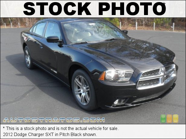 Stock photo for this 2012 Dodge Charger SXT 3.6 Liter DOHC 24-Valve Pentastar V6 8 Speed Automatic