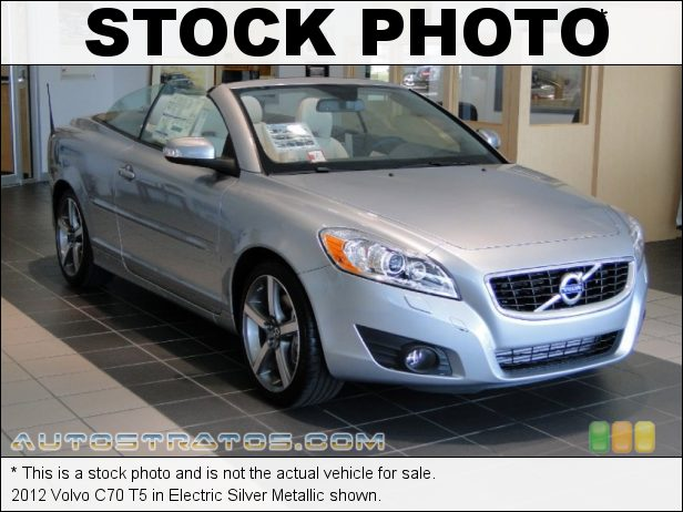 Stock photo for this 2012 Volvo C70 T5 2.5 Liter Turbocharged DOHC 20-Valve VVT 5 Cylinder 5 Speed Geartronic Automatic