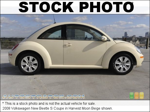 Stock photo for this 2006 Volkswagen New Beetle 2.5 Coupe 2.5L DOHC 20V Inline 5 Cylinder 6 Speed Tiptronic Automatic