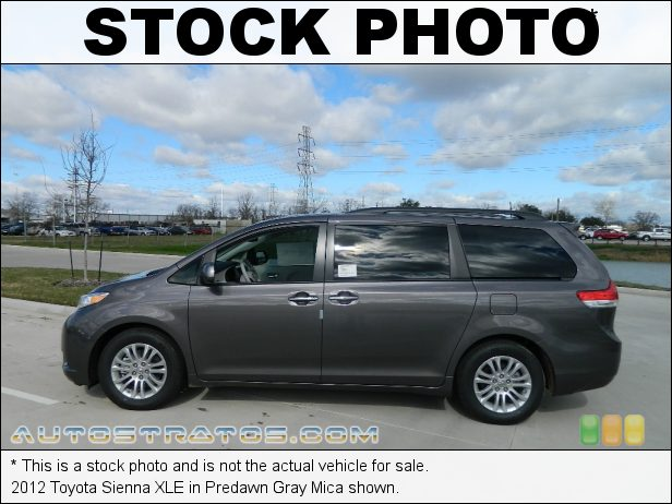 Stock photo for this 2012 Toyota Sienna  3.5 Liter DOHC 24-Valve Dual VVT-i V6 6 Speed ECT-i Automatic