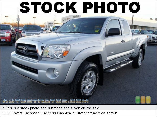Stock photo for this 2006 Toyota Tacoma V6 Access Cab 4x4 4.0 Liter DOHC EFI VVT-i V6 5 Speed Automatic