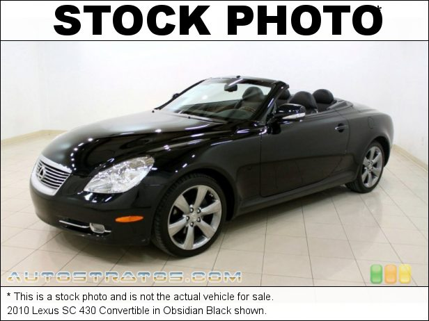 Stock photo for this 2010 Lexus SC 430 Convertible 4.3 Liter DOHC 32-Valve VVT-i V8 6 Speed Automatic