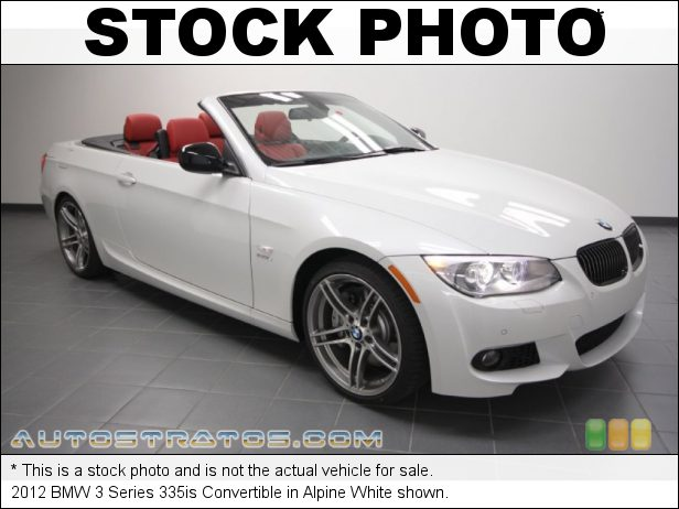 Stock photo for this 2012 BMW 3 Series 335is Convertible 3.0 Liter DI TwinPower Turbocharged DOHC 24-Valve VVT Inline 6 C 6 Speed Manual