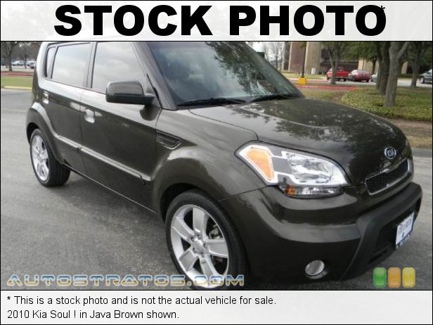 Stock photo for this 2010 Kia Soul  2.0 Liter DOHC 16-Valve CVVT 4 Cylinder 4 Speed Automatic