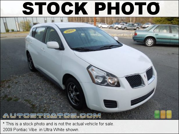 Stock photo for this 2009 Pontiac Vibe  1.8 Liter DOHC 16V VVT-i 4 Cylinder 5 Speed Automatic