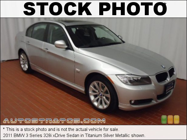 Stock photo for this 2011 BMW 3 Series 328i xDrive Sedan 3.0 Liter DOHC 24-Valve VVT Inline 6 Cylinder 6 Speed Steptronic Automatic