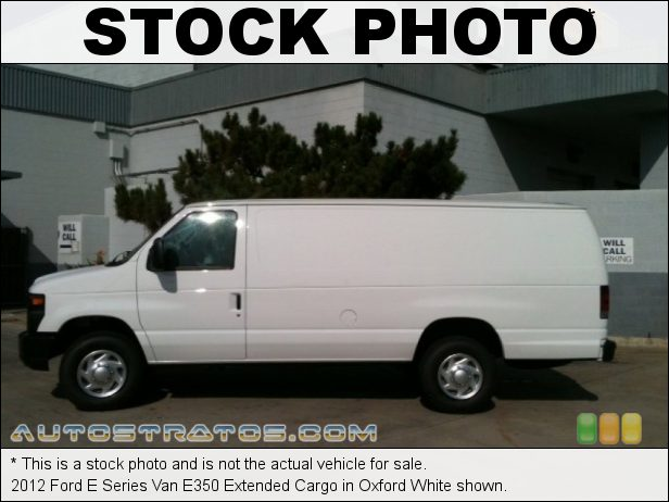 Stock photo for this 2013 Ford E Series Van E350 Extended Cargo 5.4 Liter Flex-Fuel SOHC 16-Valve Triton V8 5 Speed TorqShift Automatic