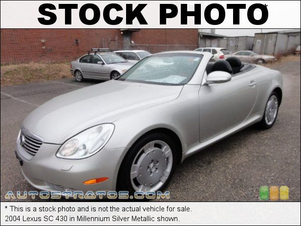 Stock photo for this 2004 Lexus SC 430 4.3 Liter DOHC 32-Valve VVT V8 5 Speed Automatic