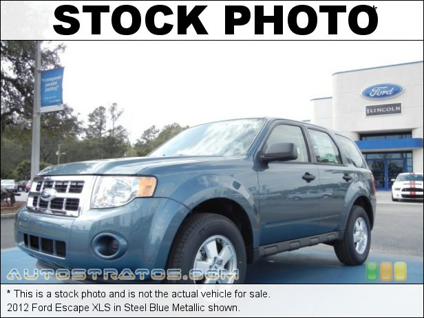Stock photo for this 2012 Ford Escape XLS 2.5 Liter DOHC 16-Valve Duratec 4 Cylinder 6 Speed Automatic