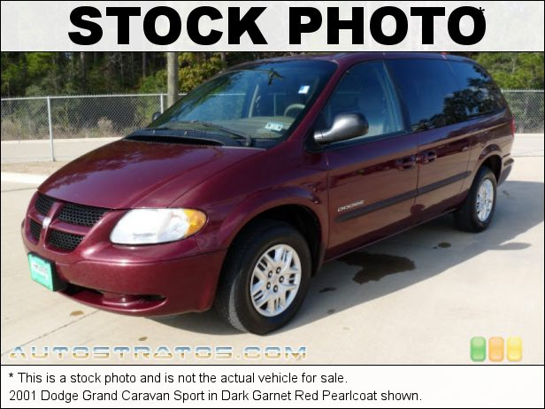 Stock photo for this 2002 Dodge Grand Caravan Sport 3.3 Liter OHV 12-Valve V6 4 Speed Automatic