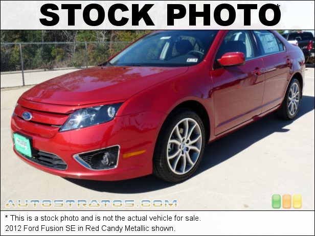 Stock photo for this 2012 Ford Fusion SE 2.5 Liter DOHC 16-Valve VVT Duratec 4 Cylinder 6 Speed Automatic