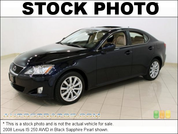 Stock photo for this 2008 Lexus IS 250 AWD 2.5 Liter DOHC 24-Valve VVT-i V6 6 Speed Automatic