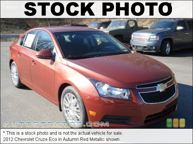 Stock photo for this 2012 Chevrolet Cruze Eco 1.4 Liter DI Turbocharged DOHC 16-Valve VVT 4 Cylinder 6 Speed Automatic
