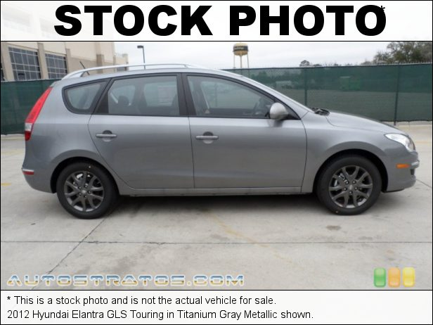 Stock photo for this 2012 Hyundai Elantra GLS Touring 2.0 Liter DOHC 16-Valve D-CVVT 4 Cylinder 4 Speed Automatic