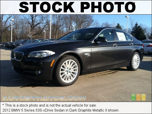Stock photo for this 2012 BMW 5 Series 535i xDrive Sedan 3.0 Liter DI TwinPower Turbocharged DOHC 24-Valve VVT Inline 6 C 8 Speed Steptronic Automatic