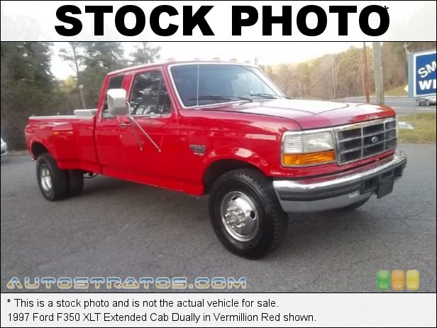 Stock photo for this 1997 Ford F350 XLT Extended Cab Dually 7.3 Liter OHV 16-Valve Turbo-Diesel V8 4 Speed Automatic