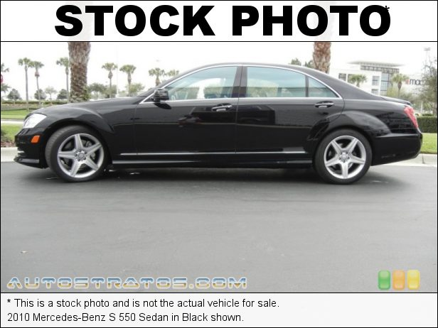 Stock photo for this 2010 Mercedes-Benz S 550 Sedan 5.5 Liter DOHC 32-Valve VVT V8 7 Speed Touch Shift Automatic