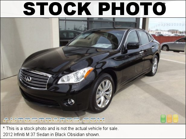 Stock photo for this 2012 Infiniti M 37 Sedan 3.7 Liter DOHC 24-Valve CVTCS V6 7 Speed ASC Automatic