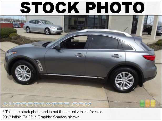 Stock photo for this 2012 Infiniti FX 35 3.5 Liter DOHC 24-Valve CVTCS V6 7 Speed ASC Automatic