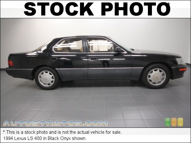 Stock photo for this 1990 Lexus LS 400 4.0 Liter DOHC 32-Valve V8 4 Speed Automatic