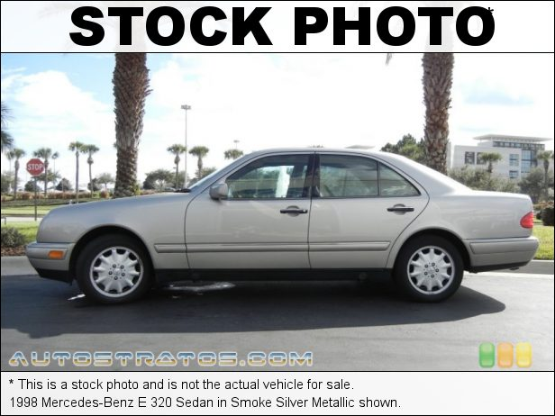 Stock photo for this 1998 Mercedes-Benz E 320 Sedan 3.2 Liter SOHC 18-Valve V6 5 Speed Automatic