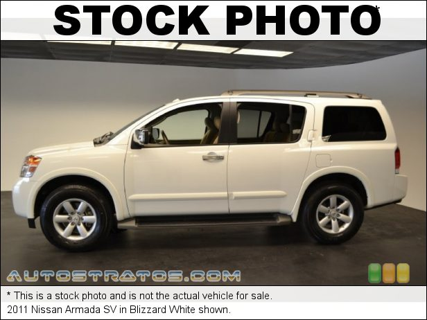 Stock photo for this 2014 Nissan Armada SV 5.6 Liter DOHC 32-Valve CVTCS V8 5 Speed Automatic