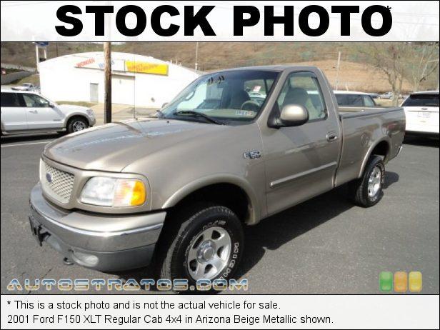 Stock photo for this 2001 Ford F150 XLT Regular Cab 4x4 4.2 Liter OHV 12-Valve V6 5 Speed Manual