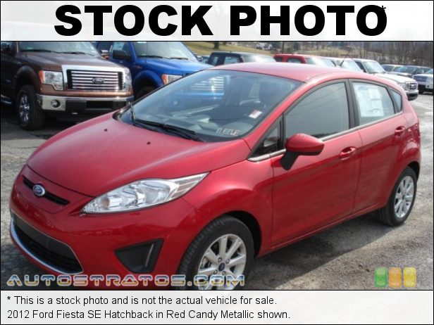 Stock photo for this 2012 Ford Fiesta SE Hatchback 1.6 Liter DOHC 16-Valve Ti-VCT Duratec 4 Cylinder 5 Speed Manual