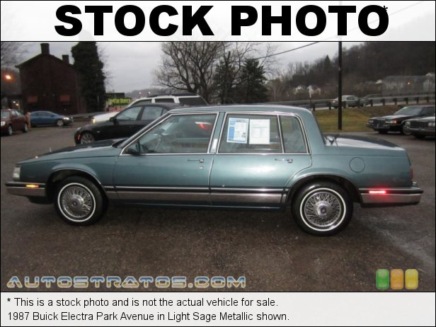Stock photo for this 1987 Buick Electra Park Avenue 3.8 Liter OHV 12-Valve V6 4 Speed Automatic