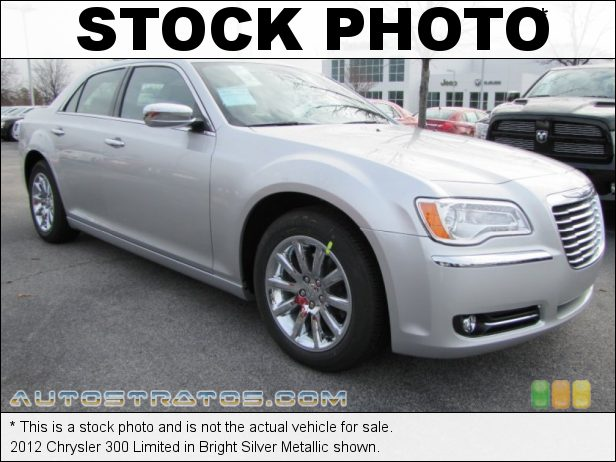 Stock photo for this 2012 Chrysler 300 Limited 3.6 Liter DOHC 24-Valve VVT Pentastar V6 8 Speed Automatic