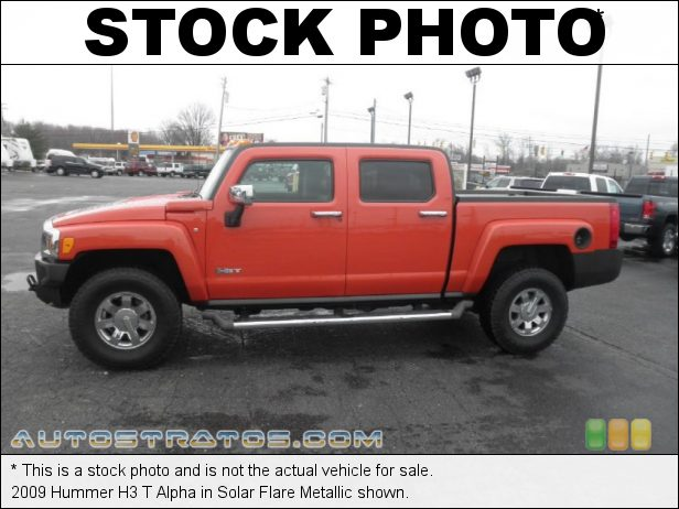 Stock photo for this 2009 Hummer H3 T Alpha 5.3 Liter OHV 16V Vortec V8 4 Speed Automatic