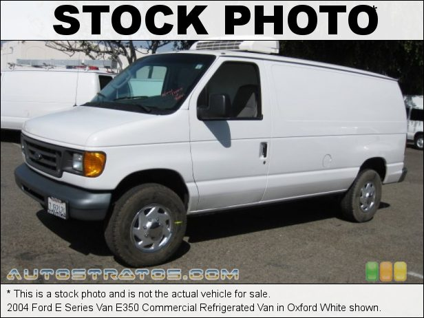 Stock photo for this 2004 Ford E Series Van E350 6.8 Liter SOHC 20-Valve Triton V10 4 Speed Automatic