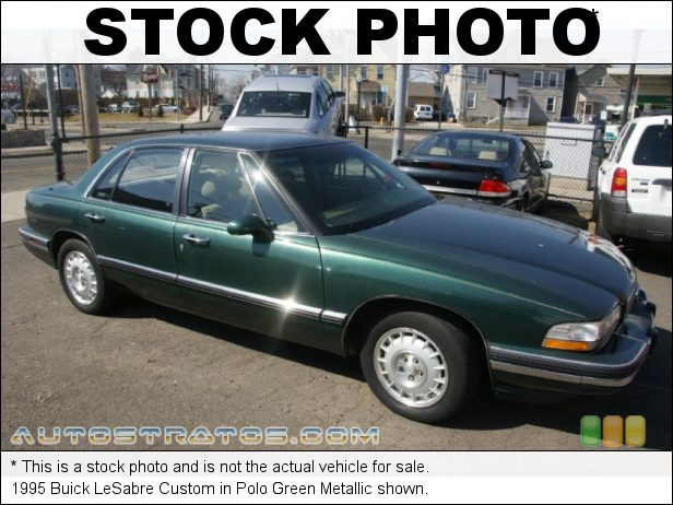 Stock photo for this 1995 Buick LeSabre Custom 3.8 Liter OHV 12-Valve V6 4 Speed Automatic