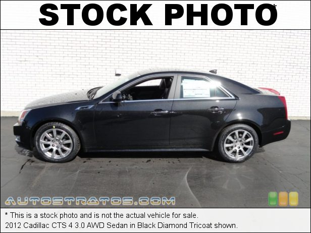 Stock photo for this 2012 Cadillac CTS 4 3.0 AWD Sedan 3.0 Liter DI DOHC 24-Valve VVT V6 6 Speed Automatic