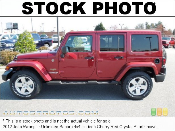 Stock photo for this 2012 Jeep Wrangler Unlimited Sahara 4x4 3.6 Liter DOHC 24-Valve VVT Pentastar V6 6 Speed Manual