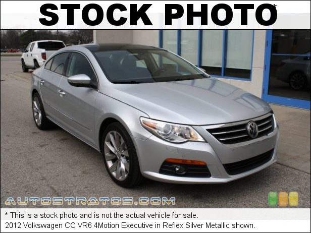 Stock photo for this 2012 Volkswagen CC VR6 4Motion Executive 3.6 Liter FSI DOHC 24-Valve VVT V6 6 Speed Tiptronic Automatic