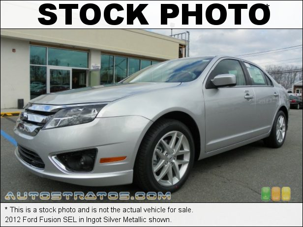 Stock photo for this 2012 Ford Fusion SEL 2.5 Liter DOHC 16-Valve VVT Duratec 4 Cylinder 6 Speed Automatic