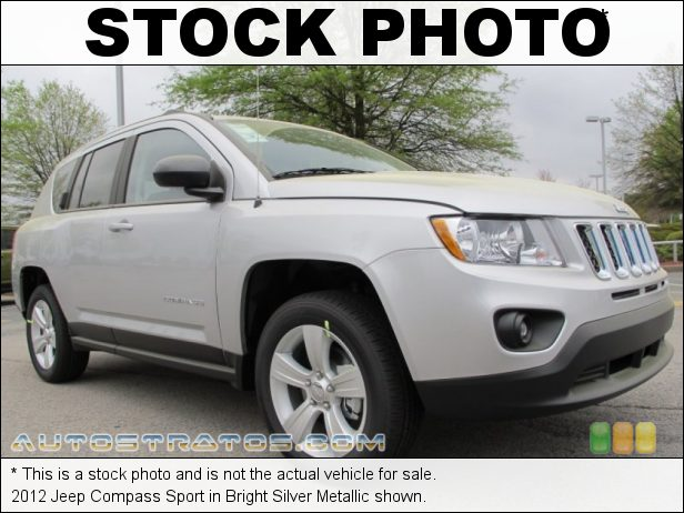 Stock photo for this 2012 Jeep Compass Sport 2.0 Liter DOHC 16-Valve Dual VVT 4 Cylinder CVT II Automatic