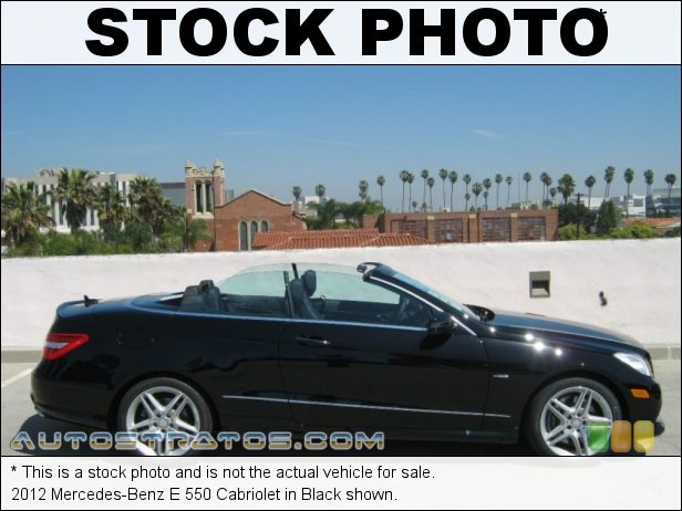 Stock photo for this 2012 Mercedes-Benz E 550 Cabriolet 4.6 Liter Twin-Turbocharged DOHC 32-Valve VVT V8 7 Speed Automatic