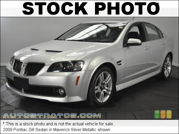 Stock photo for this 2009 Pontiac G8 Sedan 3.6 Liter DOHC 24-Valve VVT LY7 V6 5 Speed Automatic
