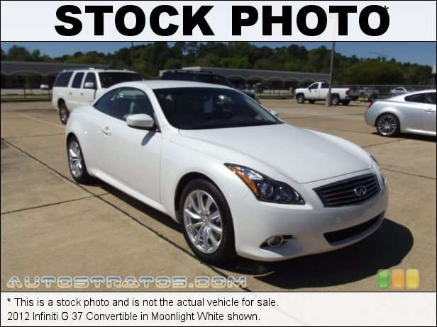 Stock photo for this 2012 Infiniti G 37 Convertible 3.7 Liter DOHC 24-Valve CVTCS VVEL V6 7 Speed Automatic