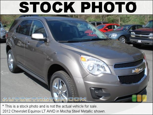 Stock photo for this 2012 Chevrolet Equinox LT AWD 3.0 Liter SIDI DOHC 24-Valve VVT Flex-Fuel V6 6 Speed Automatic