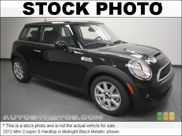Stock photo for this 2012 Mini Cooper S Hardtop 1.6 Liter DI Twin-Scroll Turbocharged DOHC 16-Valve VVT 4 Cylind 6 Speed Steptronic Automatic